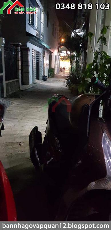 Nhà hẻm Cây Trâm phường 8 Gò Vấp