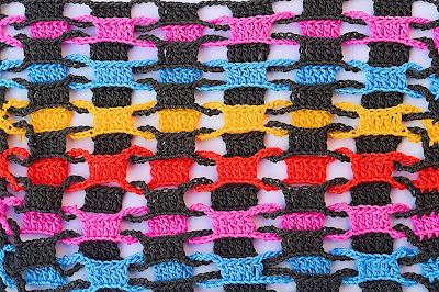 4 - CROCHET Imagen Punto entrelazado a crochet y ganchillo muy fácil y sencillo por MAJOVEL CROCHET