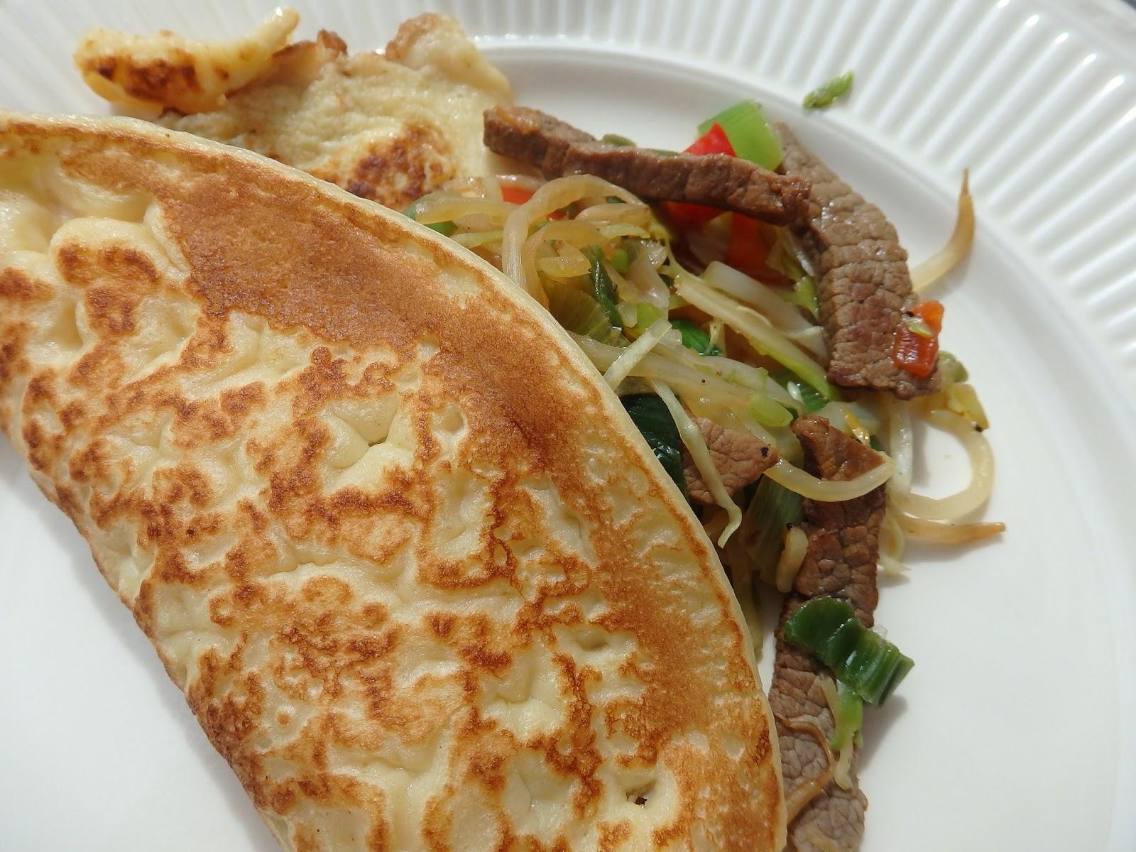 Sommerküche Kaufen : Kinderleichte sommerküche: pfannkuchen mit asiatischer füllung