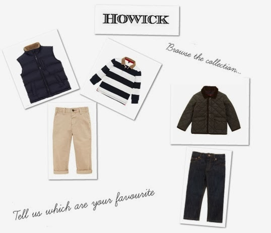 Win £150 worth of Howick Boys Clothes Competition With House Of Fraser