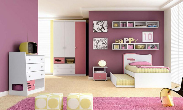 Cuartos de ni as quarto meninas for Dormitorios para ninas quito