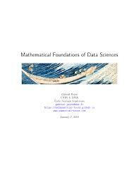 Mathematical Foundations of Data Science PDF