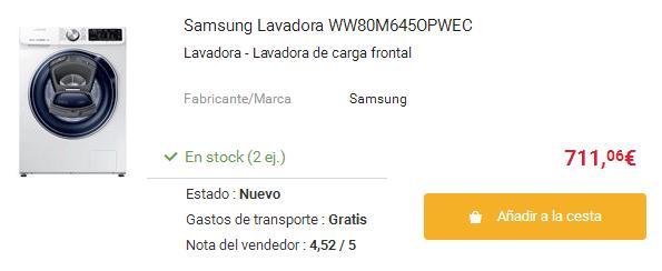 Lavadoras QuickDirve Samsung