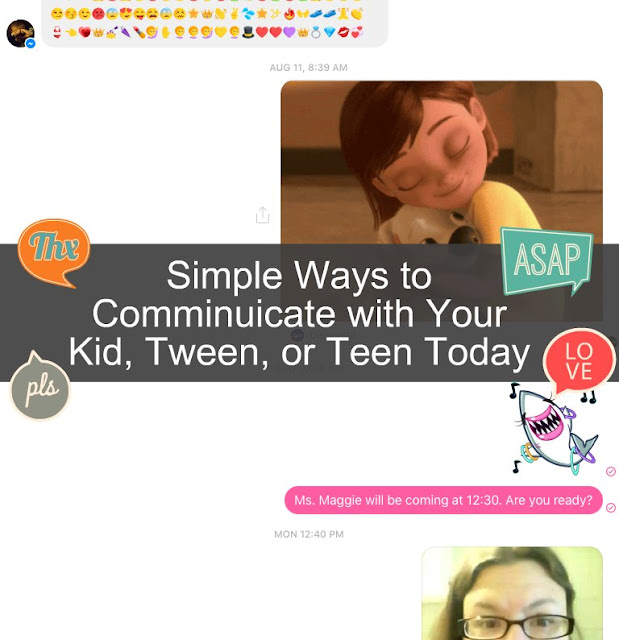 Simple Ways to Communicate with Your Kid, Tween, or Teen