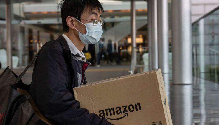 Corona injured an Amazon employee in the United States