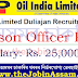 Oil India Limited Recruitment 2020: Apply for Liaison Officer Post