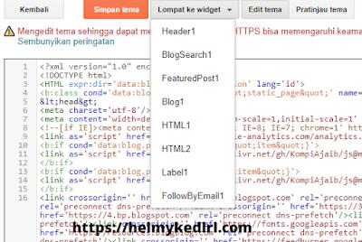 Inilah perbedaan antara tema blog lama dengan yang baru