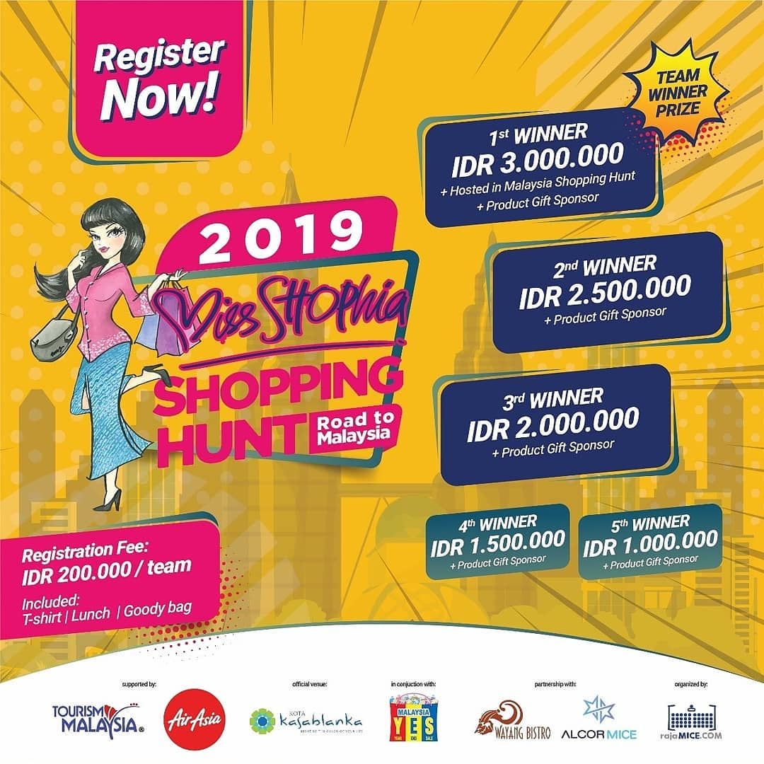 Miss SHOPhia Shopping Hunt - Road to Malaysia • 2019