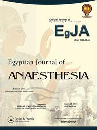 Egyptian Journal of Anaesthesia