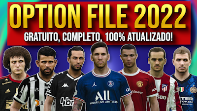 PES 2021 PS5/PS4 Option File by PESVicioBR