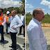 PRESIDENTE MEDINA HACE TRES PARADAS DE SUPERVISIÓN CONSTRUCCIÓN FASE II DE LA CIRCUNVALACIÓN DE SANTO DOMINGO
