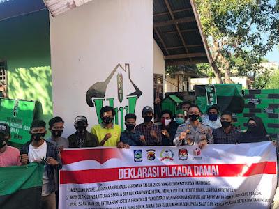 Kapolres Dompu Silaturahmi Bersama HMI