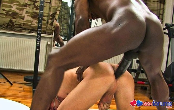 Hardcore interracial gay sex two black guys buying a car and fucking its white owner