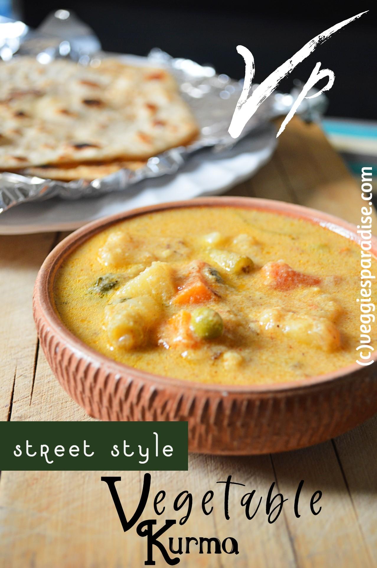 instant vegetable kurma