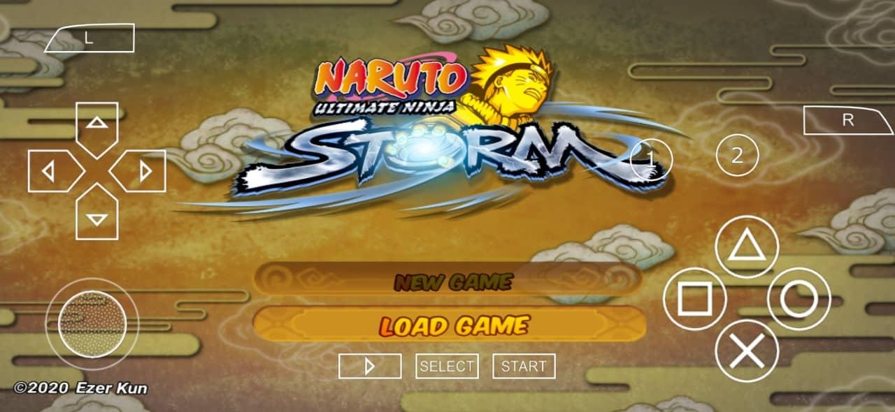 Naruto Ultimate Ninja Storm PPSSPP ISO Download