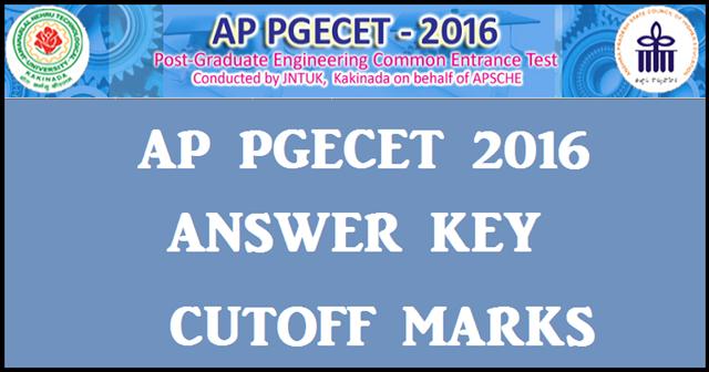 AP-PGECET-2016-Key-Cutoff-Marks
