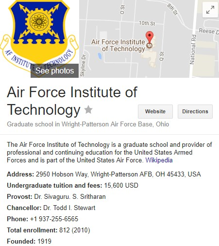 Apply for Air Force Institute of Technology (AFIT) Nigeria ...