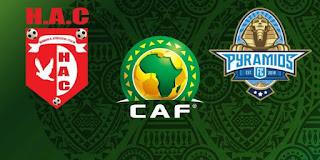 مباراة بيراميدز وحوريا مباشر ضمن كأس الكونفيدرالية الأفريقية
