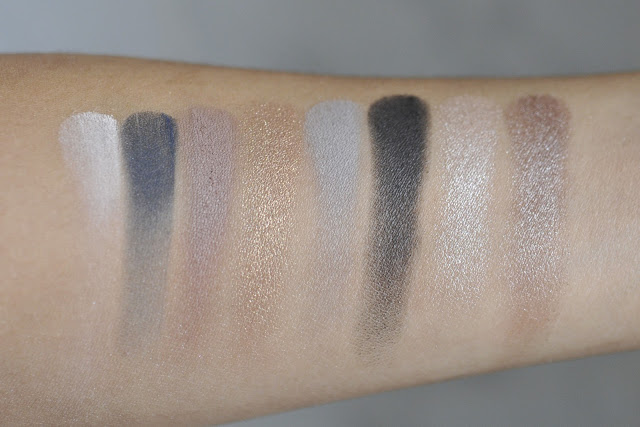 SEPHORA COLLECTION the Surprising Palette Eyeshadow Swatches