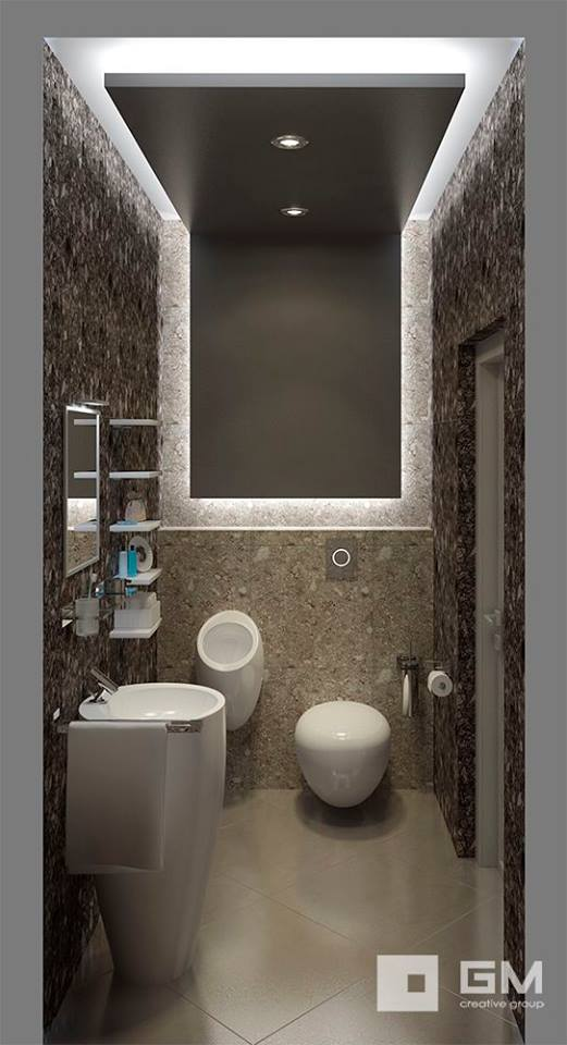 Your family room should be a space where everyone can kick back and relax. Contemporary Toilet Designs Ideas - 1 Decorate