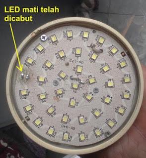 Lampu Led Yang Akan Diperbaiki