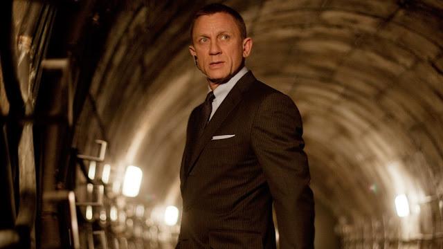 Daneil Craig como James Bond en un momento de Spectre (2015)