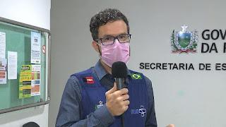 """Sair de casa sem máscara é """"tentativa de suicídio"""", diz secretário de Saúde"""
