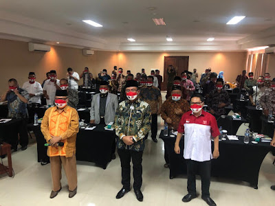 Wagub Banten Minta FKUB Sosialisasikan Protokol Kesehatan
