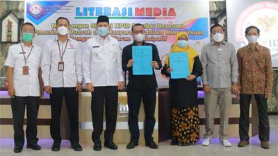 KPID Sumbar Adakan Literasi Media di Pasaman
