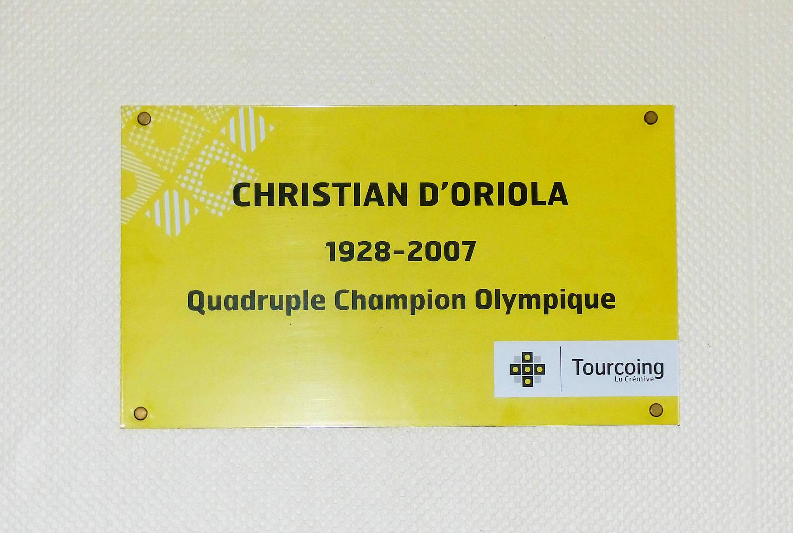 Christian d'Oriola Champion Olympique