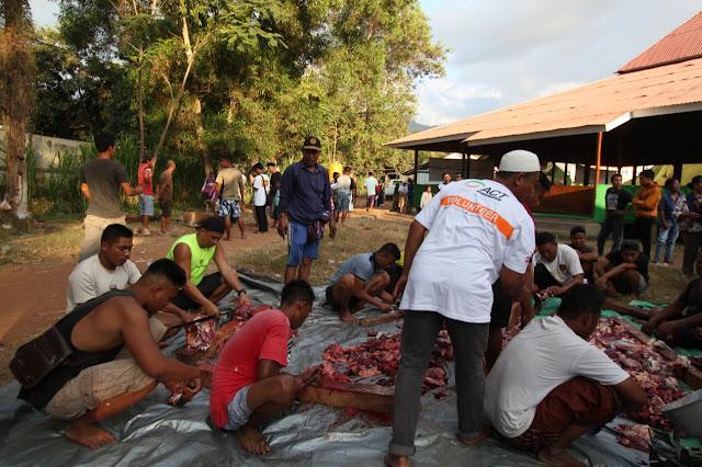 Setahun Gempa Lombok, ACT Tebarkan Kebahagiaan Iduladha bersama Penyintas Gempa