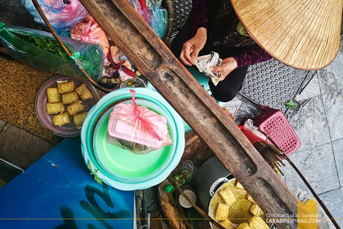 Hanoi Food Trip Bun Dau Mam Tom