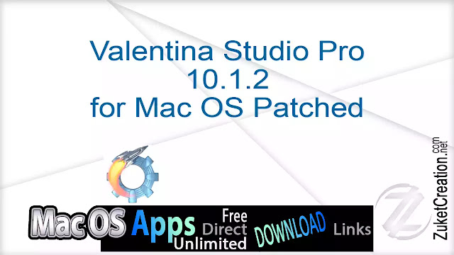 Valentina Studio Pro 10.1.2 for Mac OS Patched