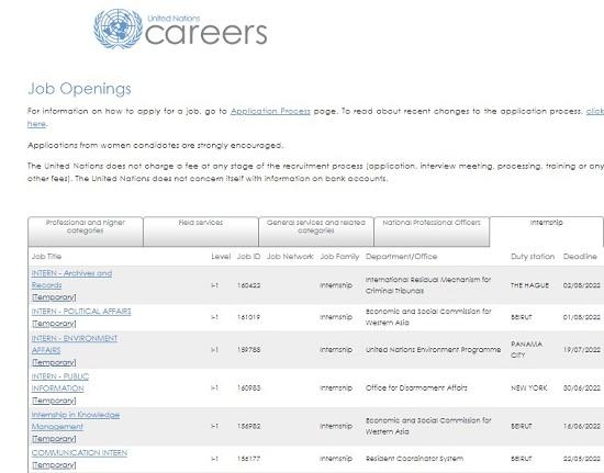 united-nations-internship-2021-fully-funded