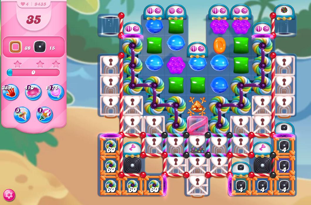 Candy Crush Saga level 9435