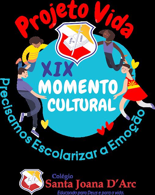 Colégio Santa Joana D'Arc, lança o projeto do Momento Cultural para alunos e familiares!