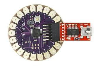 Jenis Arduino Lilypad