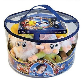 Snow White and the Seven Dwarfs Blu-ray Movie & Blush Toys Gift Set