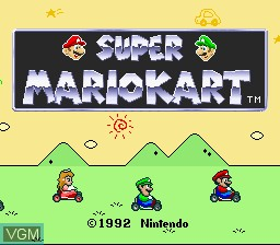 Super Mario Kart jogo online Super Nintendo