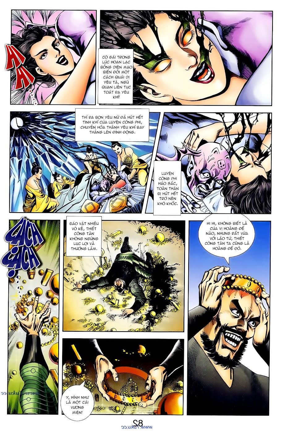 Cơ Phát Khai Chu Bản chapter 101 trang 21