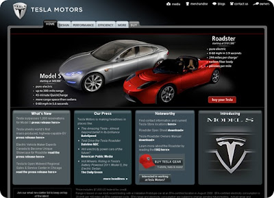 Tesla Electric Car Specs