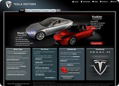 Tesla Electric Car Specs