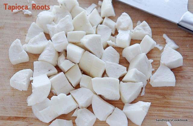 Tapioca Roots