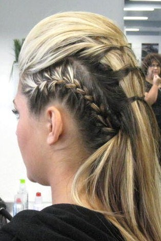 Glamorous Rockstar Hairstyles The Haircut Web