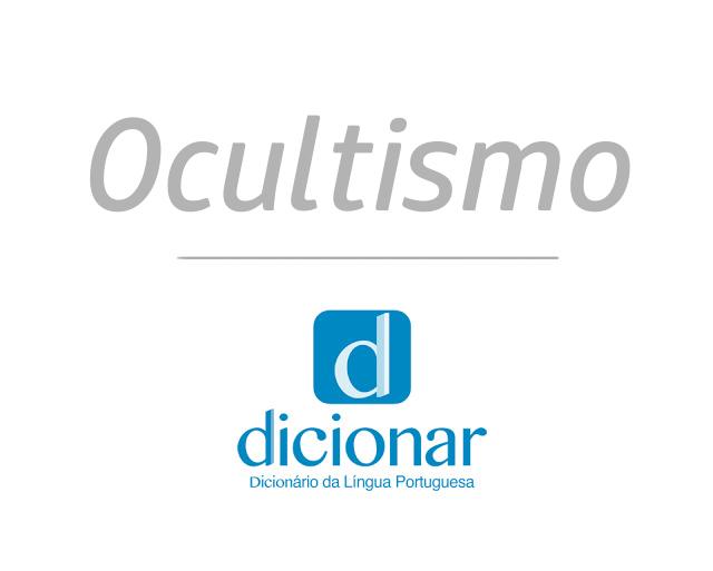Significado de Ocultismo