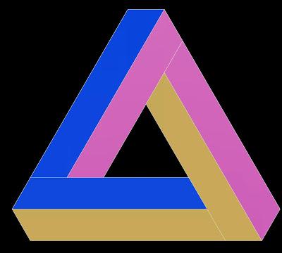 Resultado de imagen de triángulo de penrose