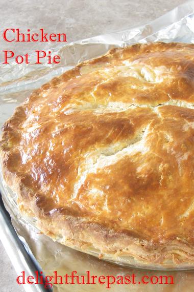 Chicken Pot Pie — Double-Crusted Classic Comfort Food / www.delightfulrepast.com
