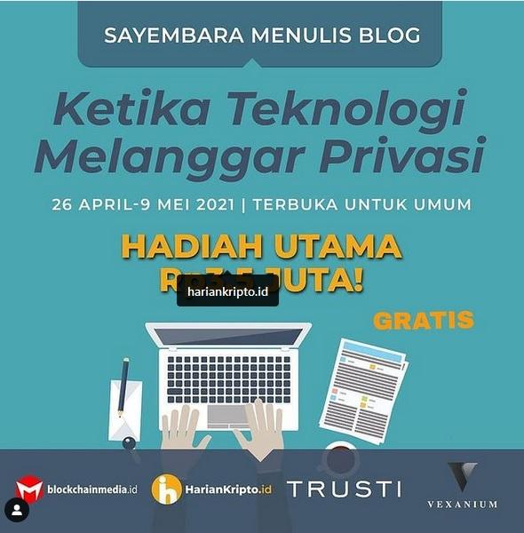 Sayembara Menulis Blog Ketika Teknologi Melanggar Privasi Total Hadiah Rp 8 Juta