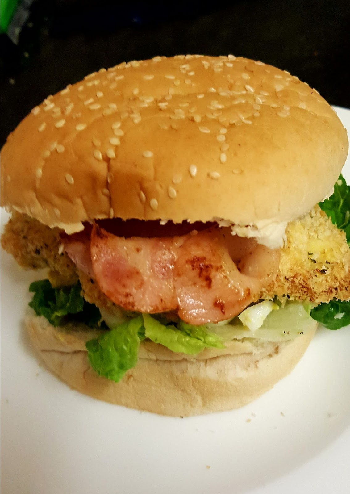 Frugal Family Of 6 Chicken Caesar Schnitzel Burgers