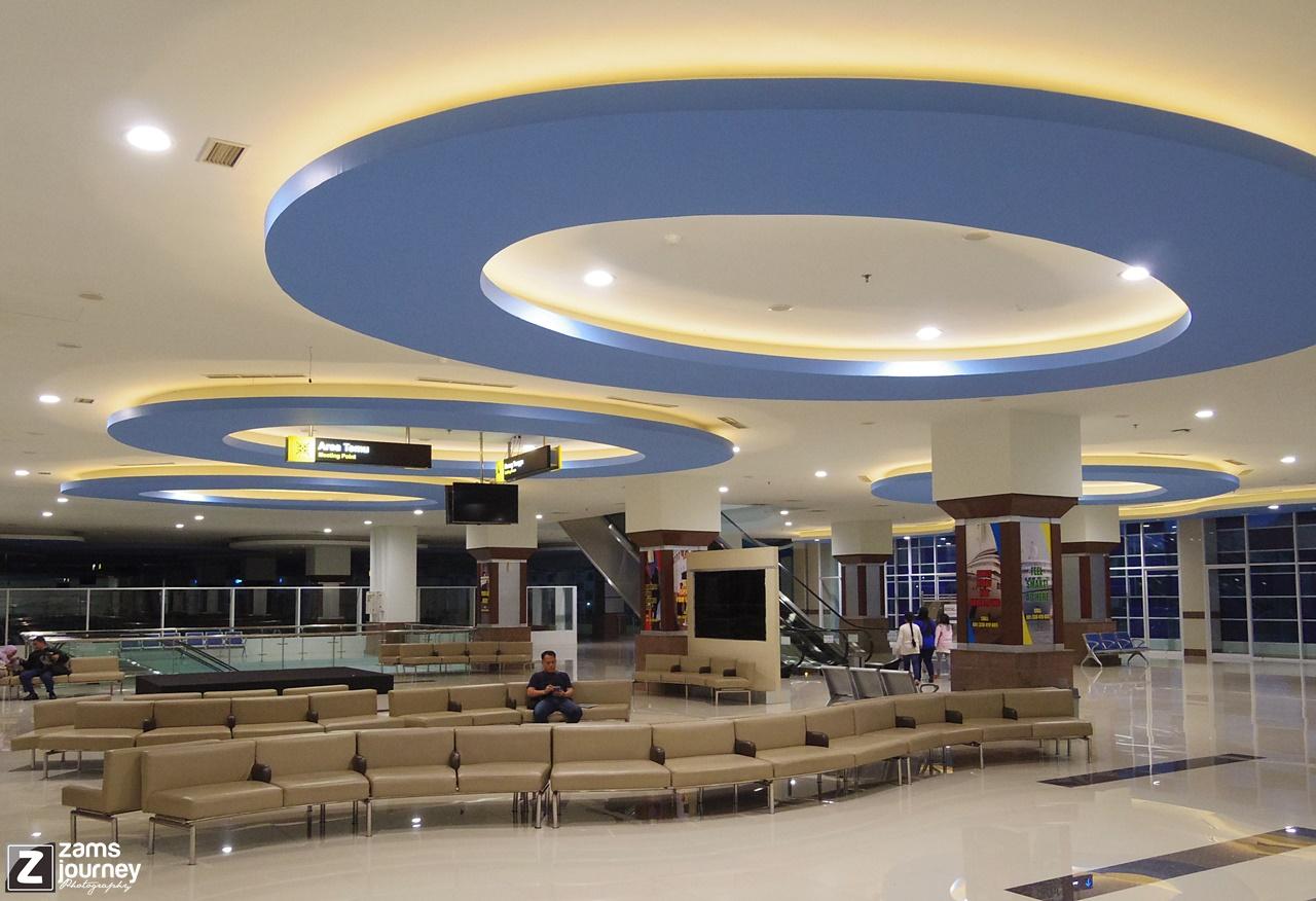 Lantai dua Gapura Surya Nusantara